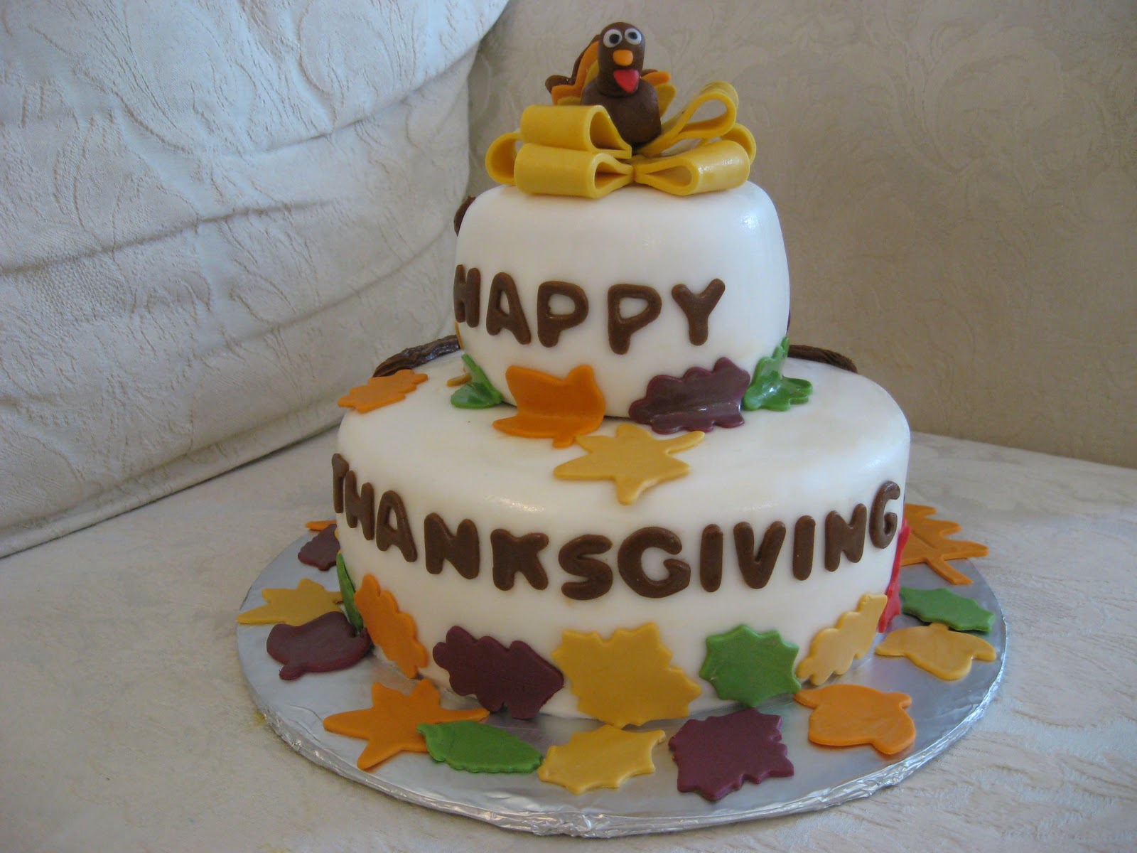 Thanksgiving Cakes     Decoration Ideas   Little Birthday Cakes Thanksgiving Cake Decorating Ideas