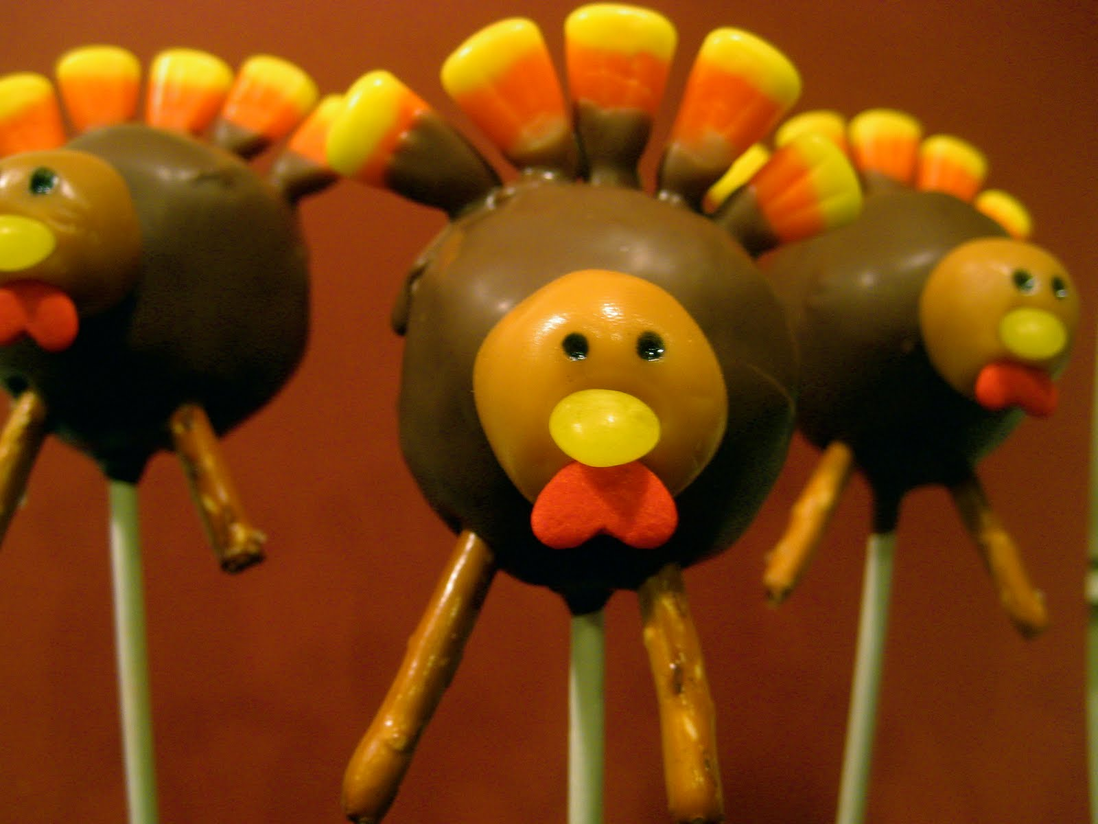 Thanksgiving Cake Pops Decorating Ideas