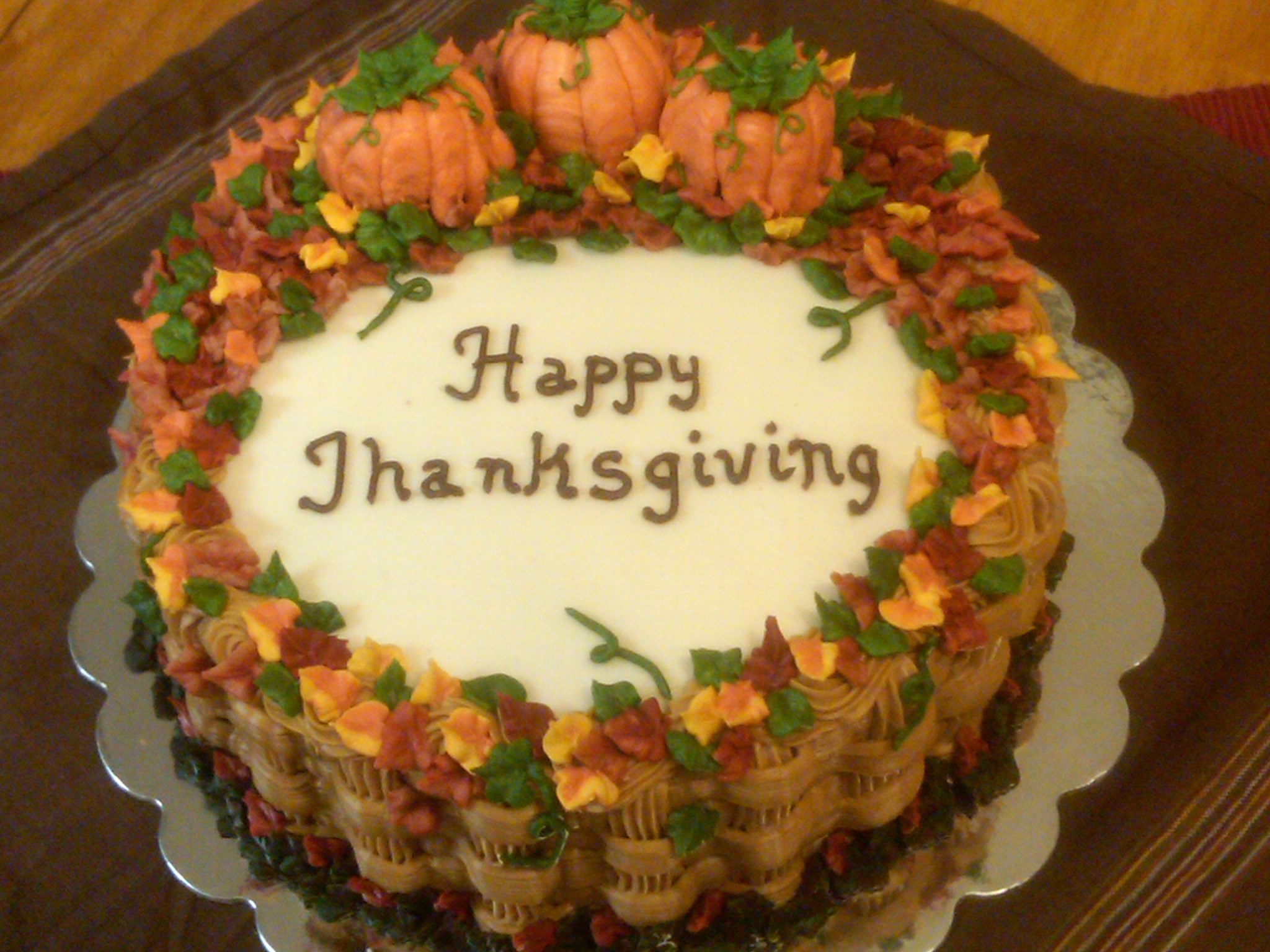 Thanksgiving Cakes     Decoration Ideas   Little Birthday Cakes Thanksgiving Cakes Ideas