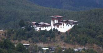 Jakar Dzong Fortress in Bumthang
