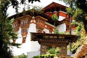 Bhutanese architecture is unique in that it offers a fine, delicate balance between ecological setting, culture, architecture and art.