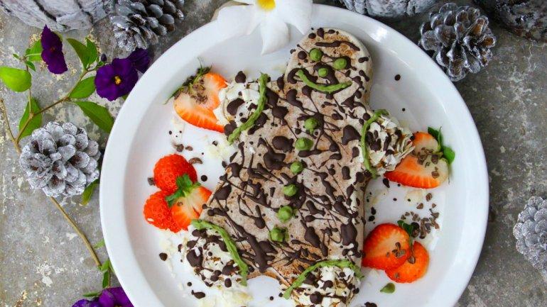 Chocolate Matcha Cake (Gluten, Dairy & Refined Sugar FREE)