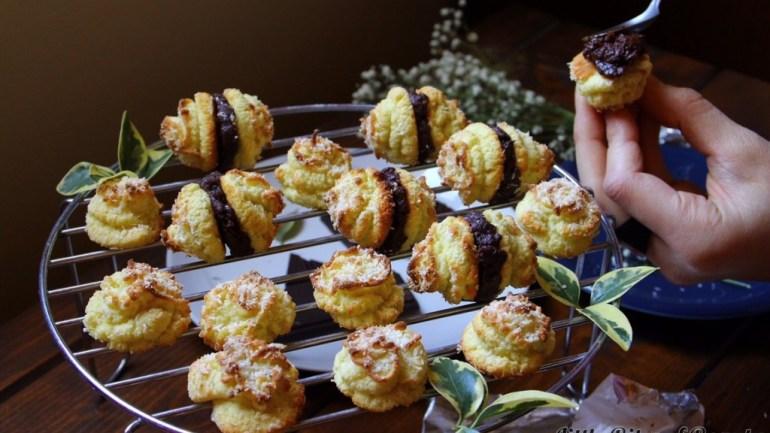 Paleo Coconut Macaroon Kisses (Grain, Gluten & Dairy FREE)