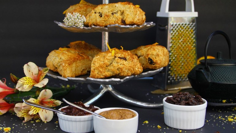 Gluten Free Ginger Scones
