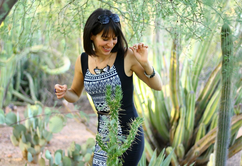 Ambra and cacti