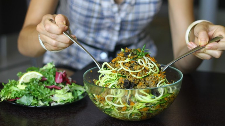 AIP Bolognese Sauce with Zucchini Noodles