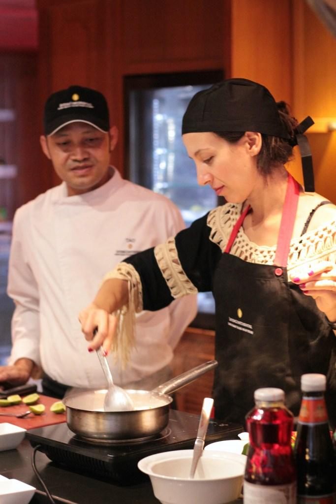 Recipe Development with the Chef of Intercontinental Ko Samui