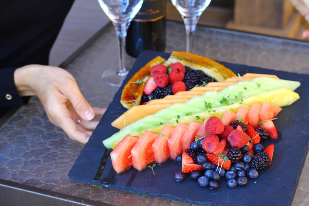Rosewood Cordevalle Healthy Food