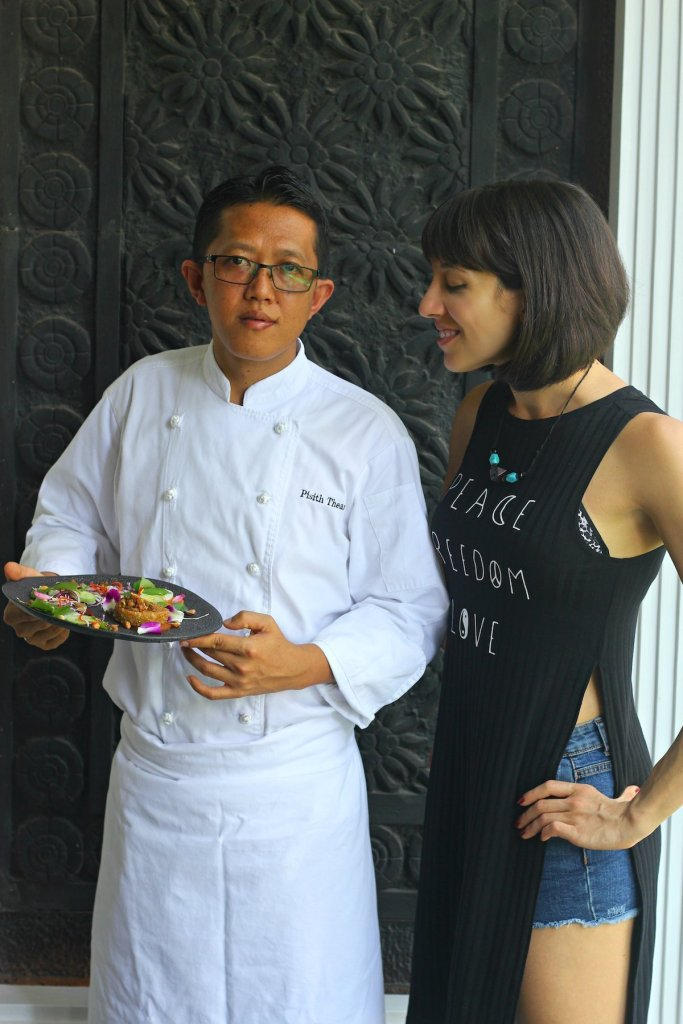 Recipe Development with the with the Executive Chef of Park Hyatt Siem Reap