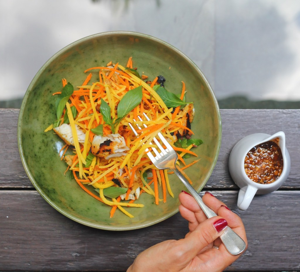 Green Mango Salad from the Chef at Park Hyat Siem Reap 1