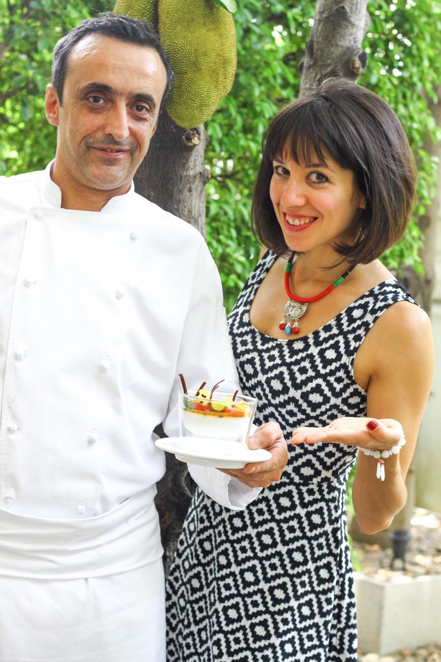 Passion Fruit Panna Cotta Chef Remy