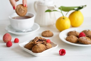Chocolate cravings on the AIP. Cacao Free Chocolate Soufflé Cookies (AIP, Paleo, Gluten & Dairy Free)