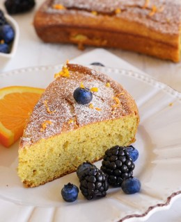 nut free paleo orange cake
