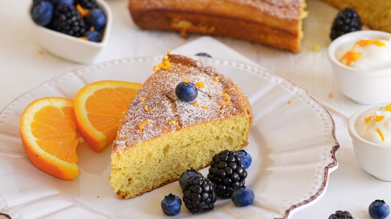 Paleo Orange Cake (Gluten, Dairy, Nut & Coconut Free)