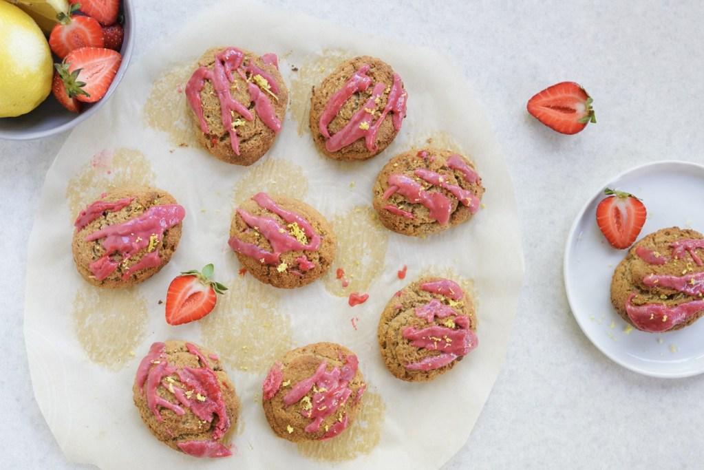 Paleo Gluten Free Strawberry Lemon Scones (Dairy & Grain Free)