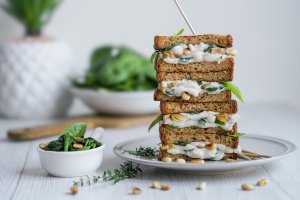 Dairy Free Grilled Cheese Sandwich