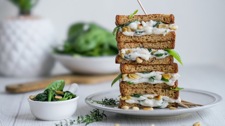 Gluten & Dairy Free Grilled Cheese Sandwich