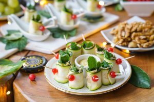 Healthy Holiday Party Finger Food (Gluten Free)