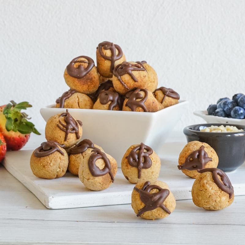 Chocolate Biscotti Balls (Dairy & Gluten Free) 1