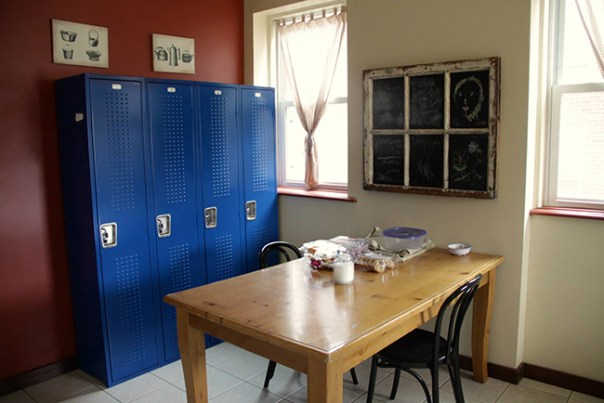 Kitchen lockers, Little Bit of Haven
