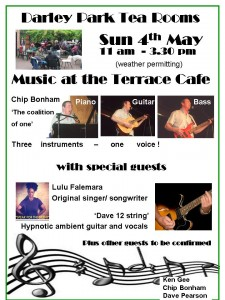 Music at the Cafe May 4th