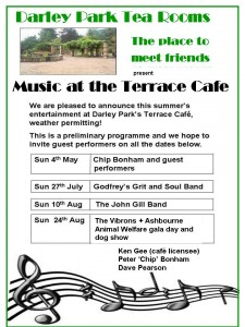 Music at the Cafe All
