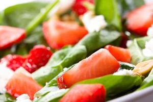 Spinach Summer Salad