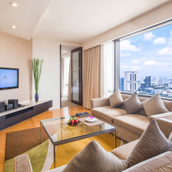 Emporium Suites Chatrium Bangkok family self-catering accommodation