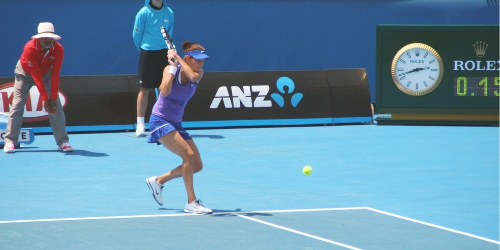Melbourne Australian Open Tennis is held in the summer a great time to visit | Little City Trips Guide to visiting Melbourne with Kids