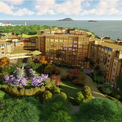 Disney Explorers Lodge Hong Kong family hotel
