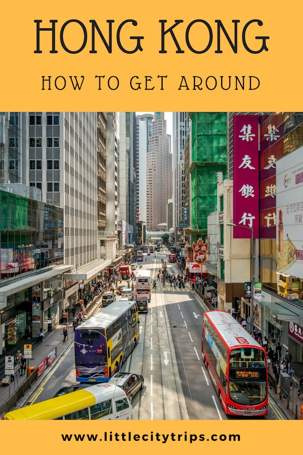 Family guide to Hong Kong public transport and how to get around Hong Kong with kids