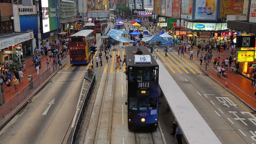Getting around Hong Kong