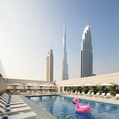 Rove Hotel Dubai family hotel