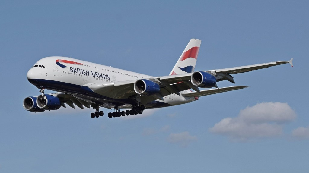 British Airways Plane   How to get from London's Airports to central London