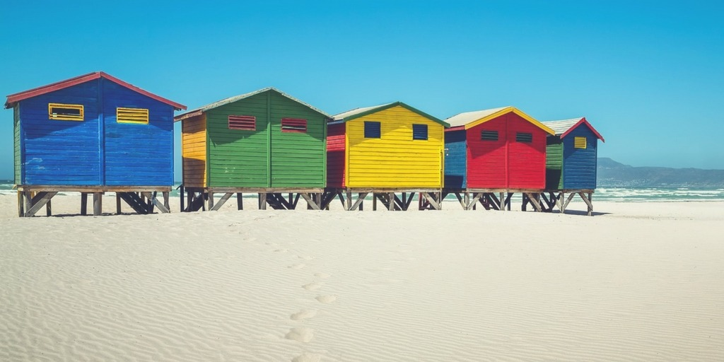 Colourful Cape Town Beach Huts | Family Guide to Cape Town