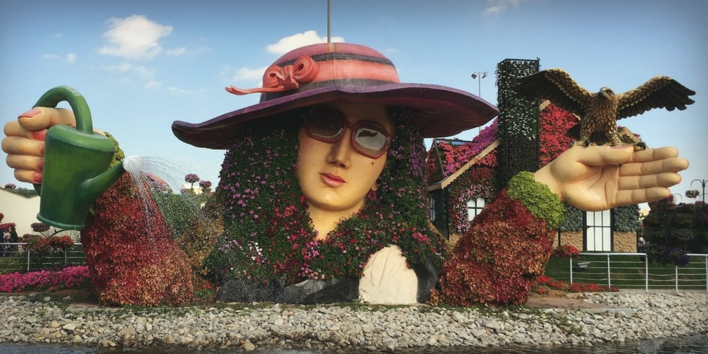 Dubai Miracle Garden   Things to do with kids in Dubai   Little City Trips