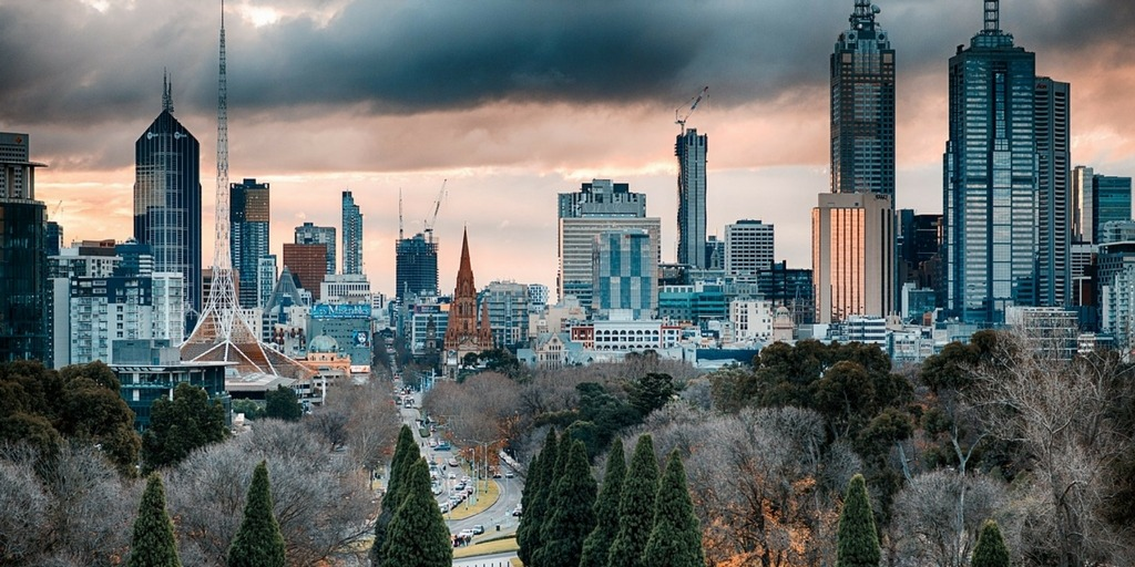 Stormy Melbourne Skyline | Little City Trips guide to the best time to visit Melbourne
