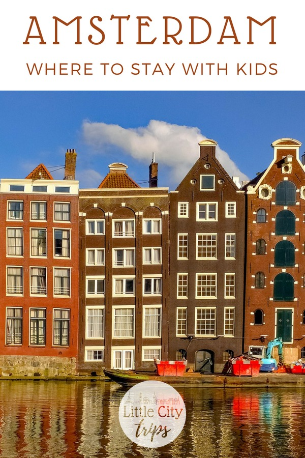 Our selection of the best family hotels in Amsterdam with child-friendly amenities for kids of all ages