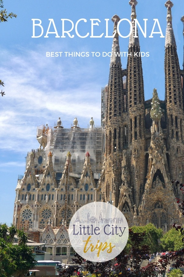 Our family guide to the best things to do in Barcelona with kids including sightseeing, the beach and family attractions for all ages