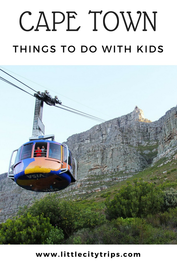 Family guide to the best things to do in Cape Town with kids written by our Cape Town city expert