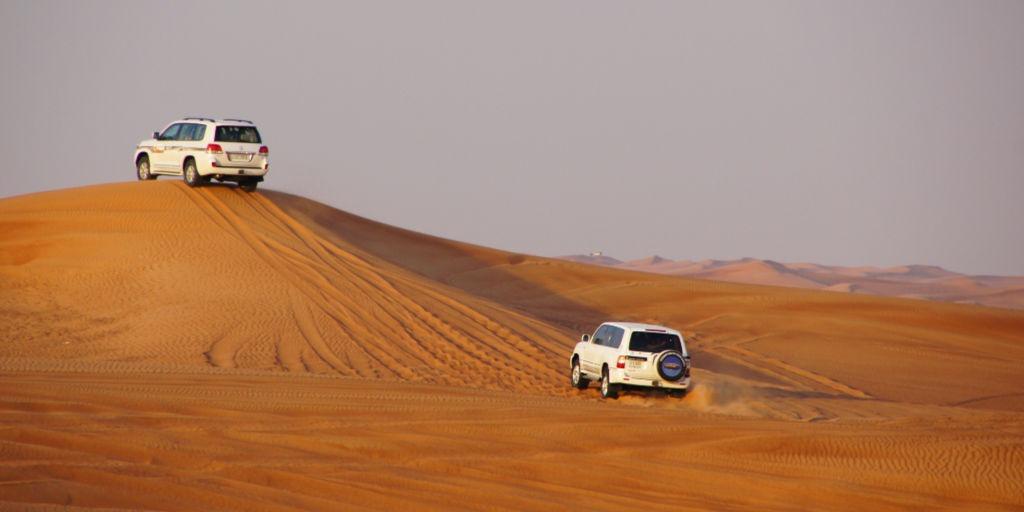 Dubai Desert safari 4WD in the Desert | Things to do in Dubai as a family