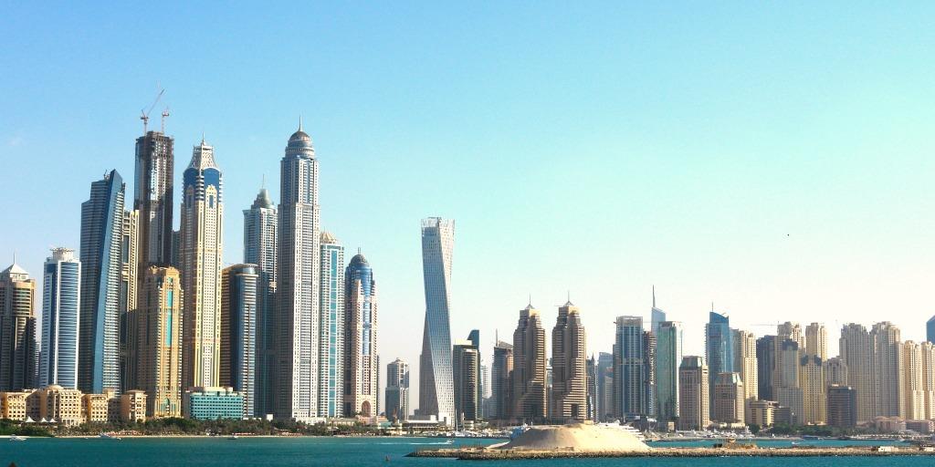 Dubai City Skyline- is it possible to visit Dubai on a Budget