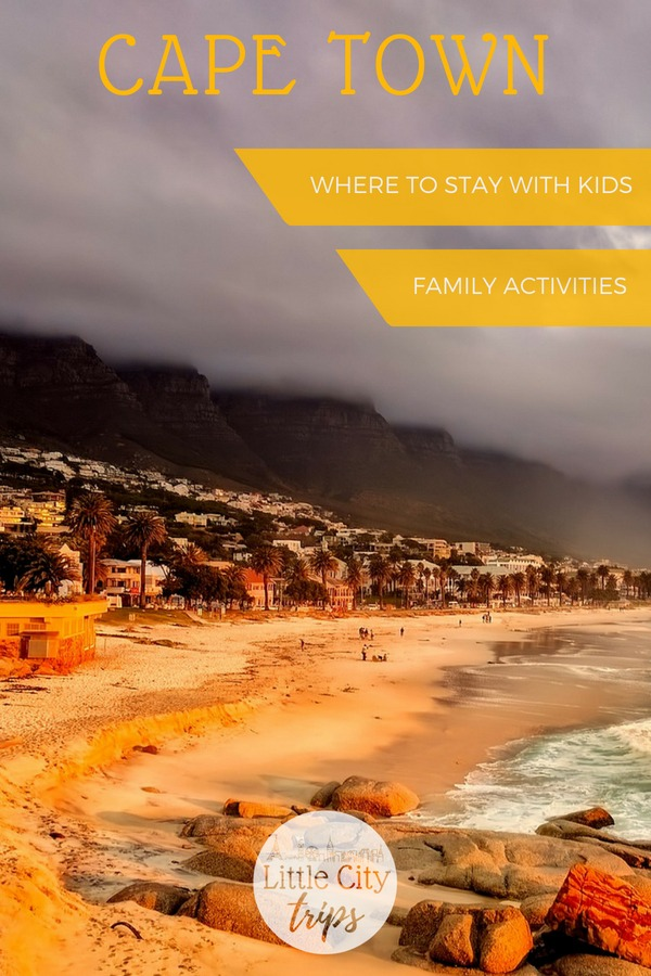 Insider guide with all you need to know to plan a visit to Cape Town with kids