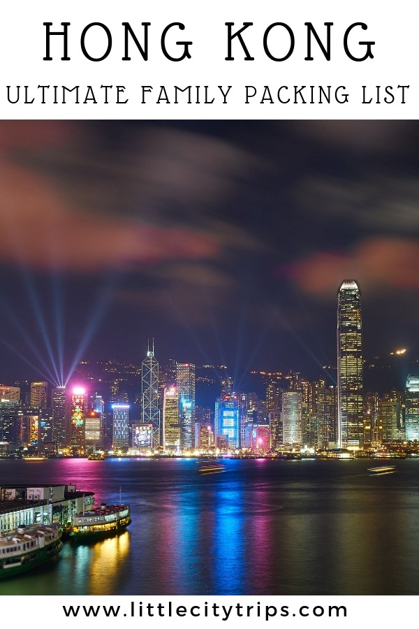 Travelling to Hong Kong? City travel experts Little City Trips talk you through all the most important items you need to pack for Hong Kong. Print off our Hong Kong packing list for your next city trip.