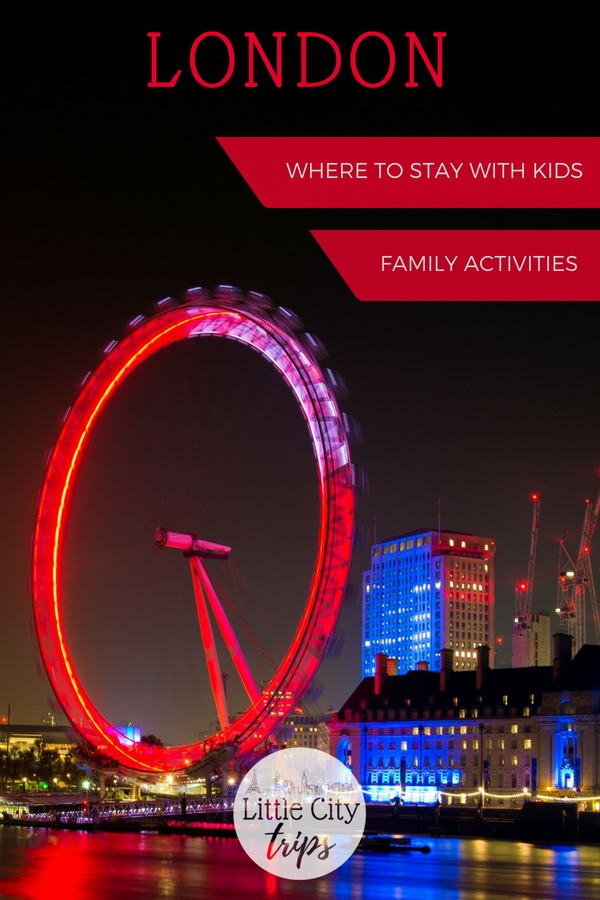 Family guide to visiting London with kids
