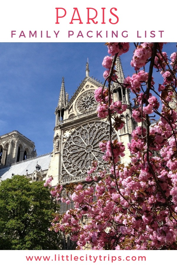 Travelling to Paris? City travel experts Little City Trips talk you through all the most important items you need to pack for Paris. Print off our Paris packing list for your next city trip.