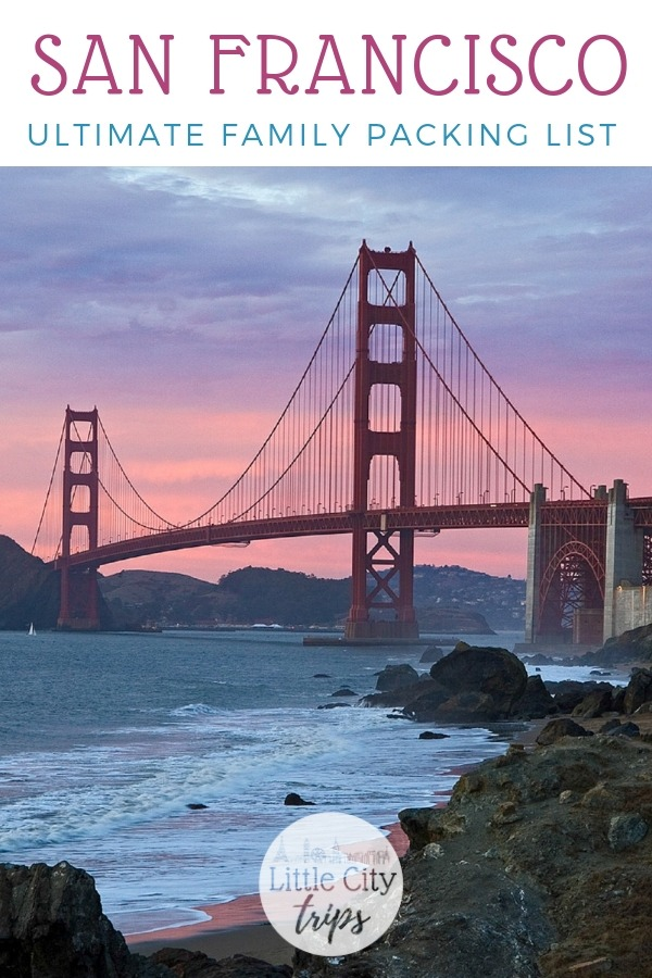 Travelling to San Francisco? City travel experts Little City Trips talk you through all the most important items you need to pack for San Francisco. Print off our San Francisco packing list for your next city trip.