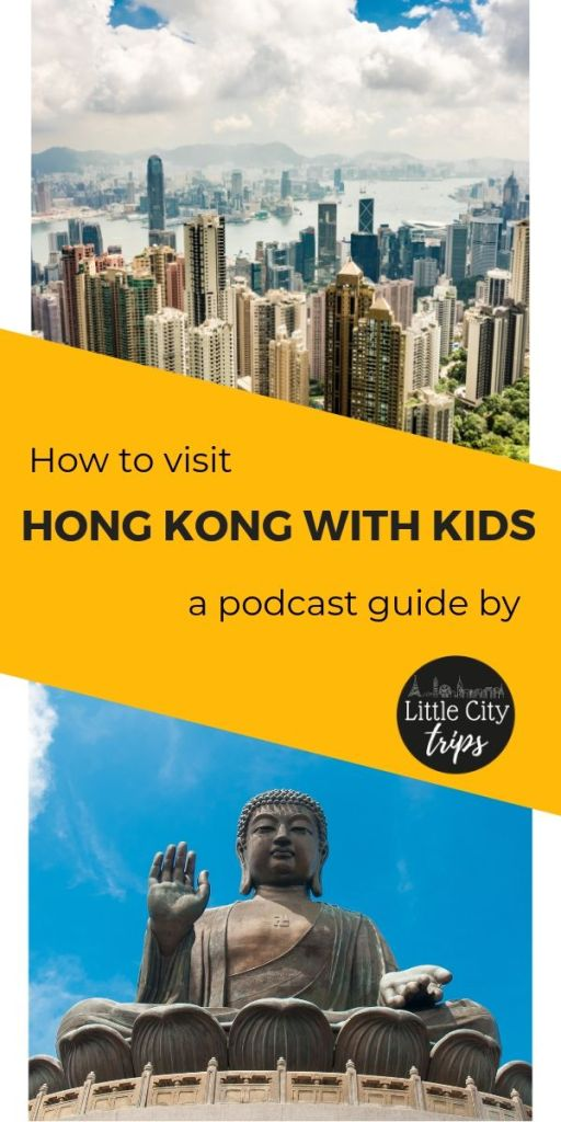 Hong Kong with Kids Travel Podcast Advert