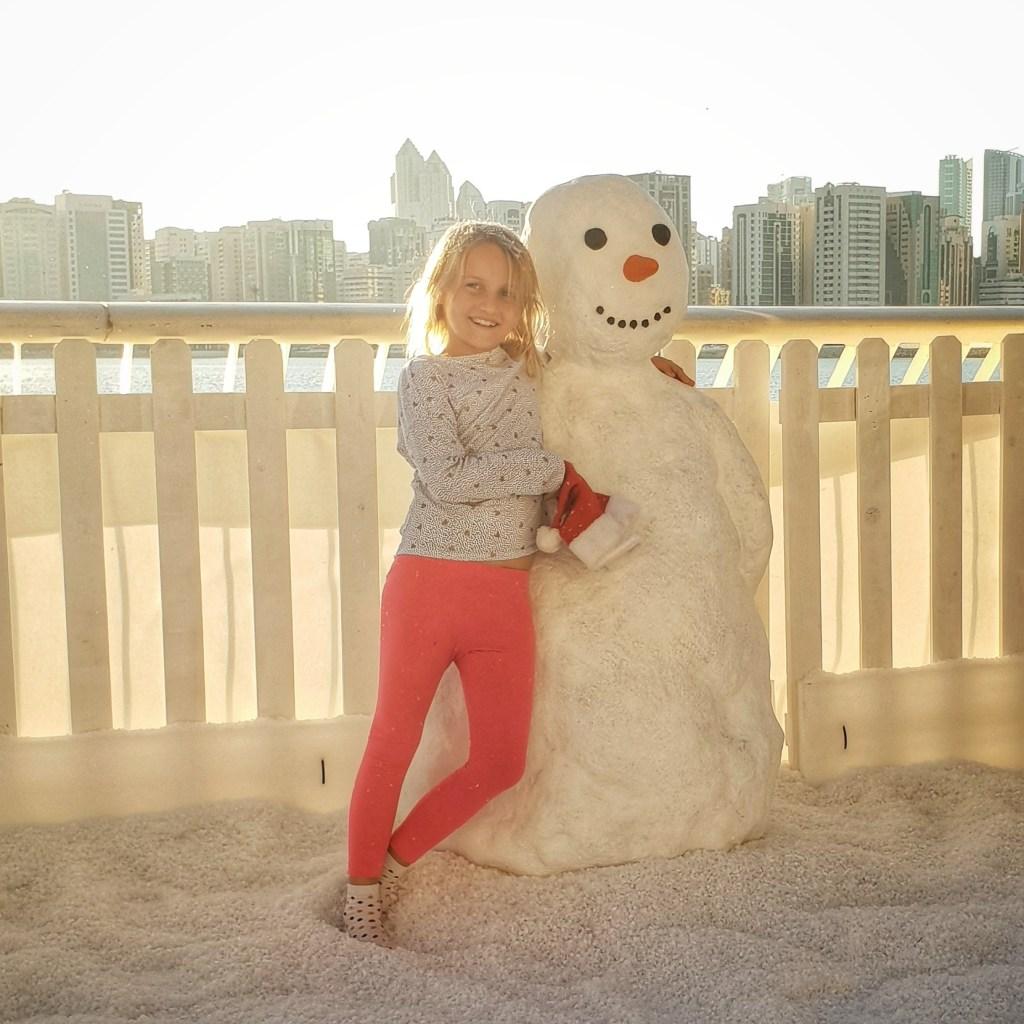 Christmas in Abu Dhabi