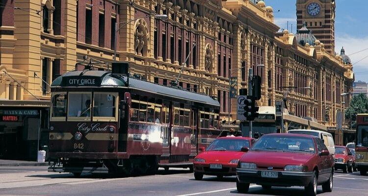 Melbrourne Free City Tram